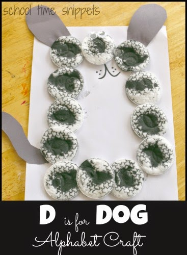 letter d craft for preschoolers