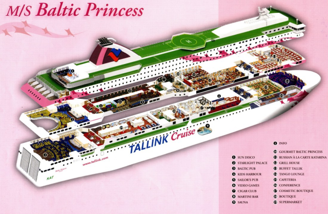 baltic princess aamiainen