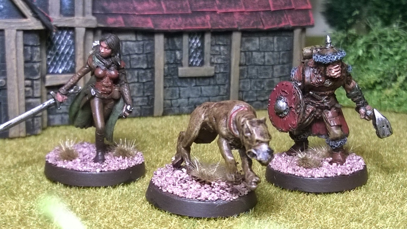 Otherworld miniature open combat second thunder warband