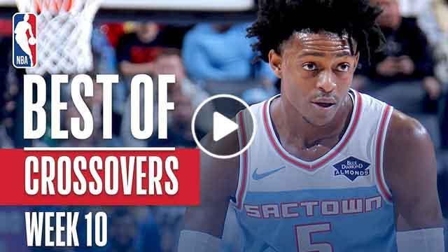 NBA's Best Crossovers | Week 10 - December 24, 2018