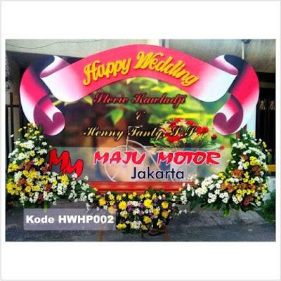 Bunga Papan Pernikahan Surabaya