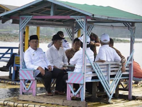 Kunjungan Menteri ke Situ Bagendit