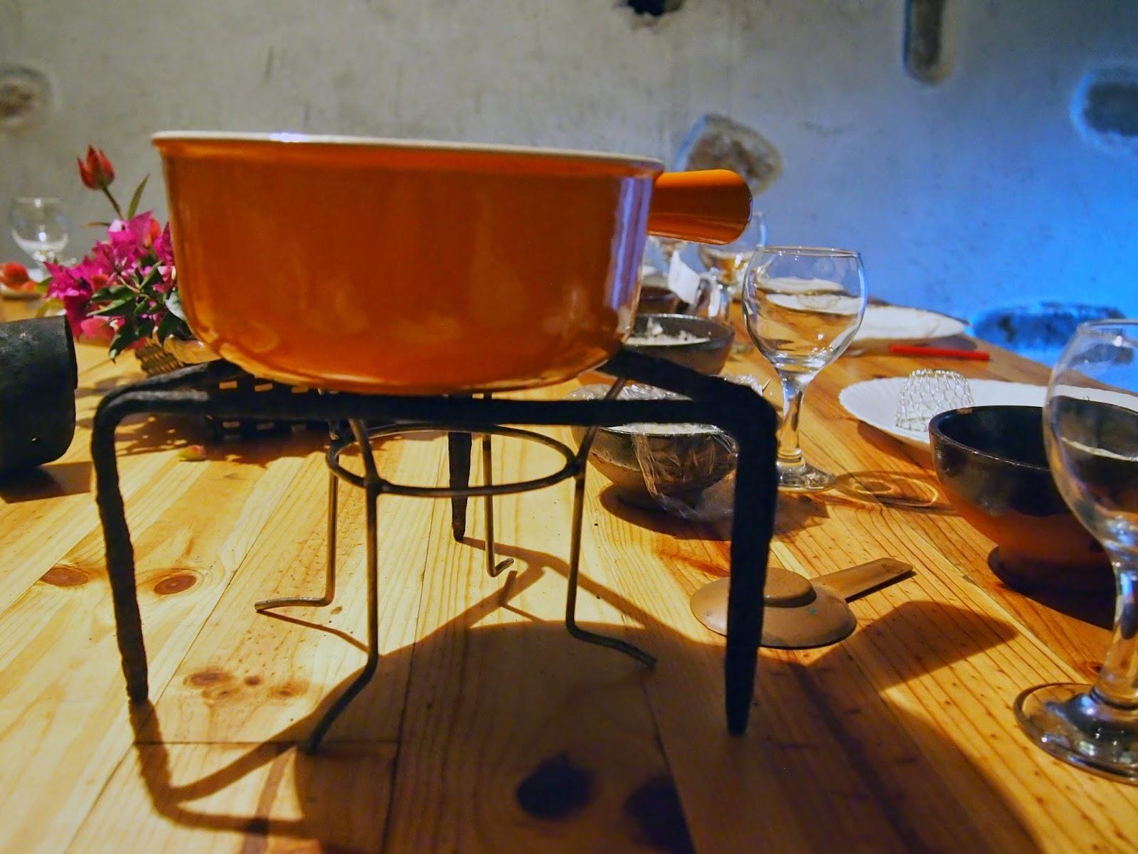 fondue de pescado