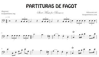 1000 Partituras para aprender Fagot