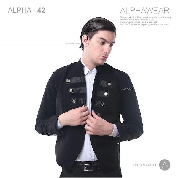 alphawear burst button jacket alpha42