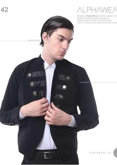 alphawear burst button jacket alpha42