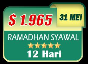 paket umroh akhir ramadhan 2019 syawal