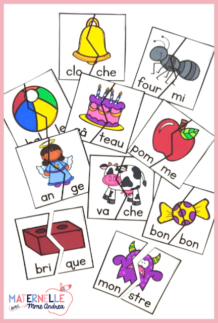 Are you an anglophone teacher teaching in a French early elementary classroom? Or, do you just need to brush up on the official rules of dividing words into syllables en français before you begin teaching them? Check out this blog post for four easy to understand rules for teaching syllables to French students!