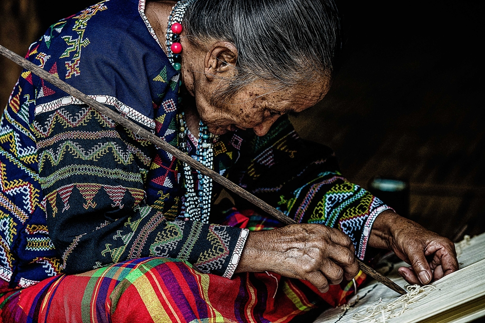Blaan woman in Lamlifew Cultural Village