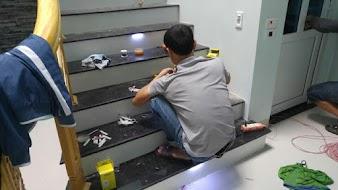 Hướng dẫn lắp mạch điện cầu thang Led cảm ứng thực tế - 2020