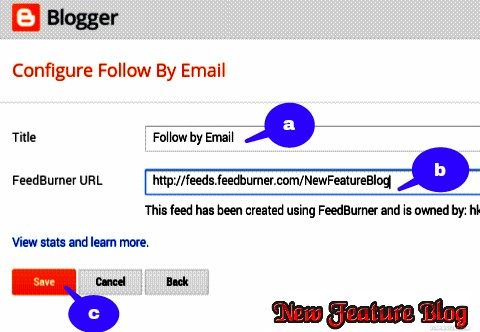email sdubscriptyion followe by emai