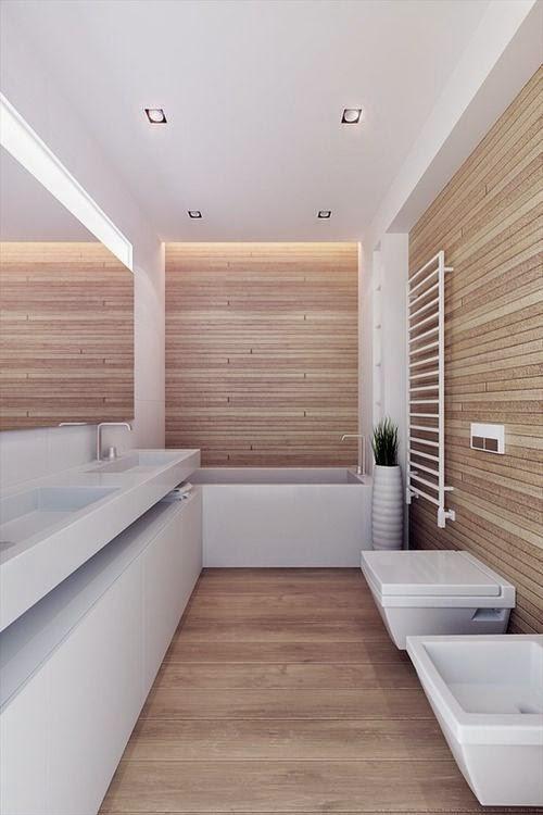 Ba os aseos modernos - Aseos pequenos con ducha ...