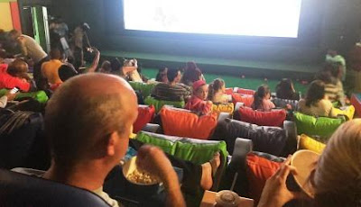 View from above in the Ster-Kinekor Kids' Cinema