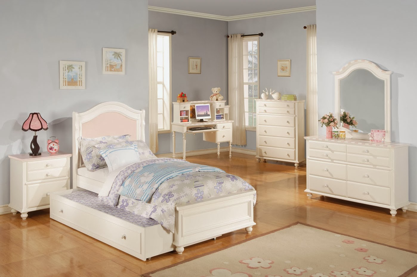 photo chambre fille moderne chambre de fille. Black Bedroom Furniture Sets. Home Design Ideas