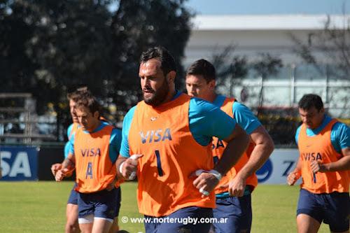 Formación de Los Pumas vs Springboks en Salta #RugbyChampionship