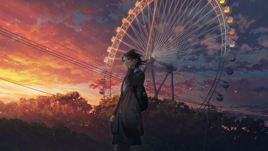 Anime Girl Crying 4k Wallpaper 158