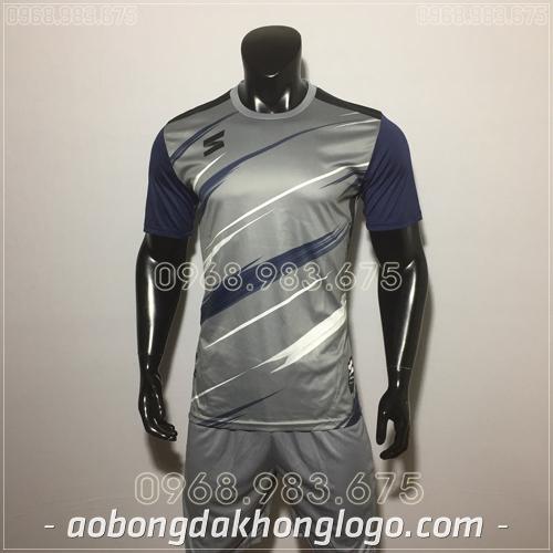 Áo bóng đá không logo TL Zavikia  màu xám
