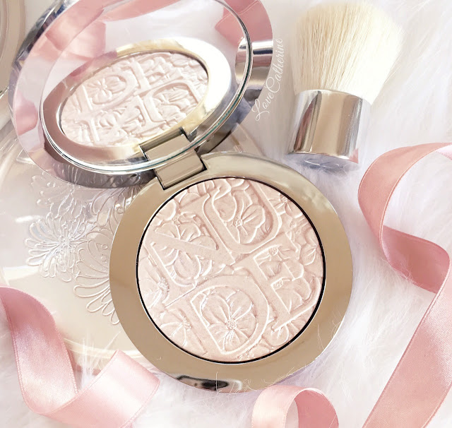 Dior Diorskin Nude Air | Glowing Gardens Highlighter, 001 Glowing Pink