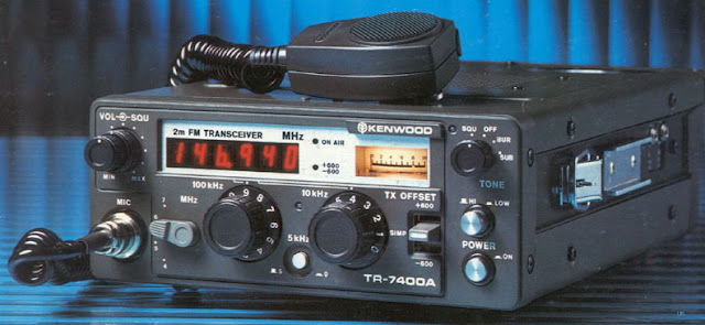 Kenwood TR-7400A Mobile Radio