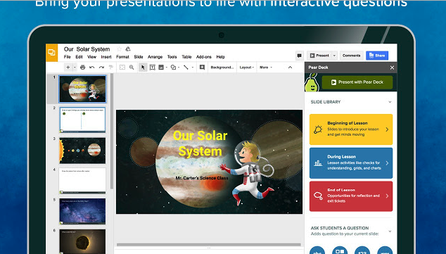 create professional looking presentations with these google slides