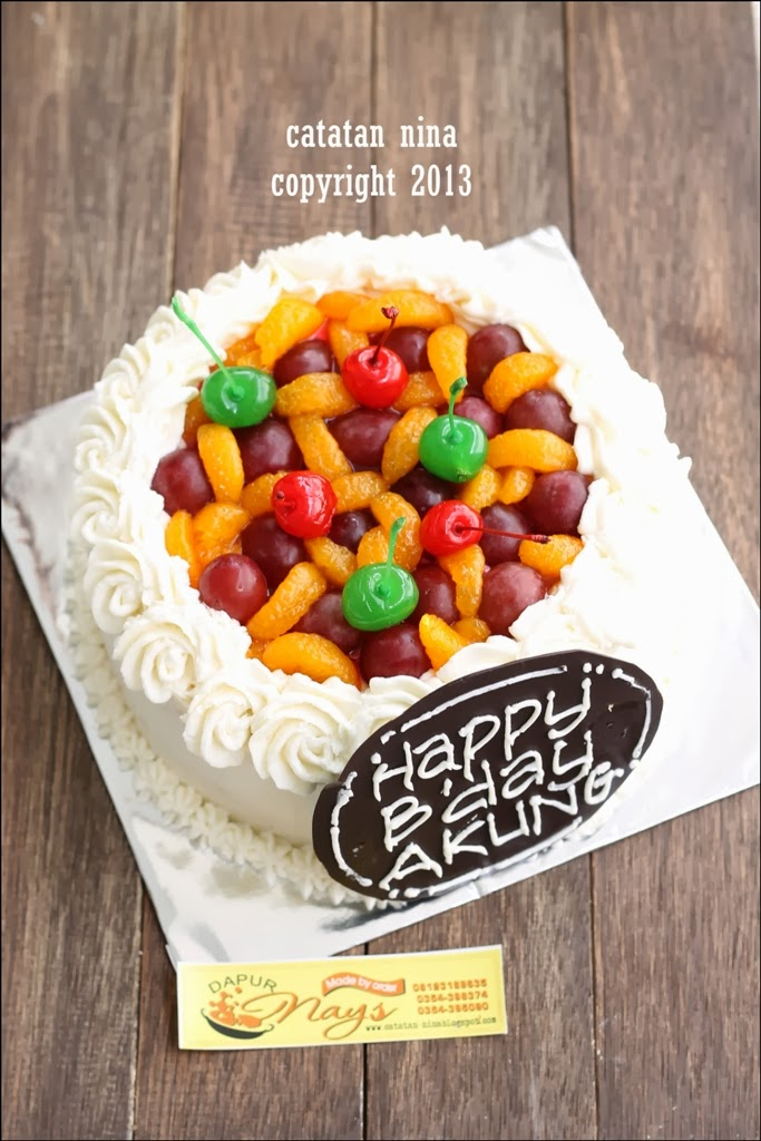 FRUITY CHEESE CAKE MBAK DWI - Catatan-Nina | Aneka Resep Masakan Rumah menjadi Terlihat Mewah