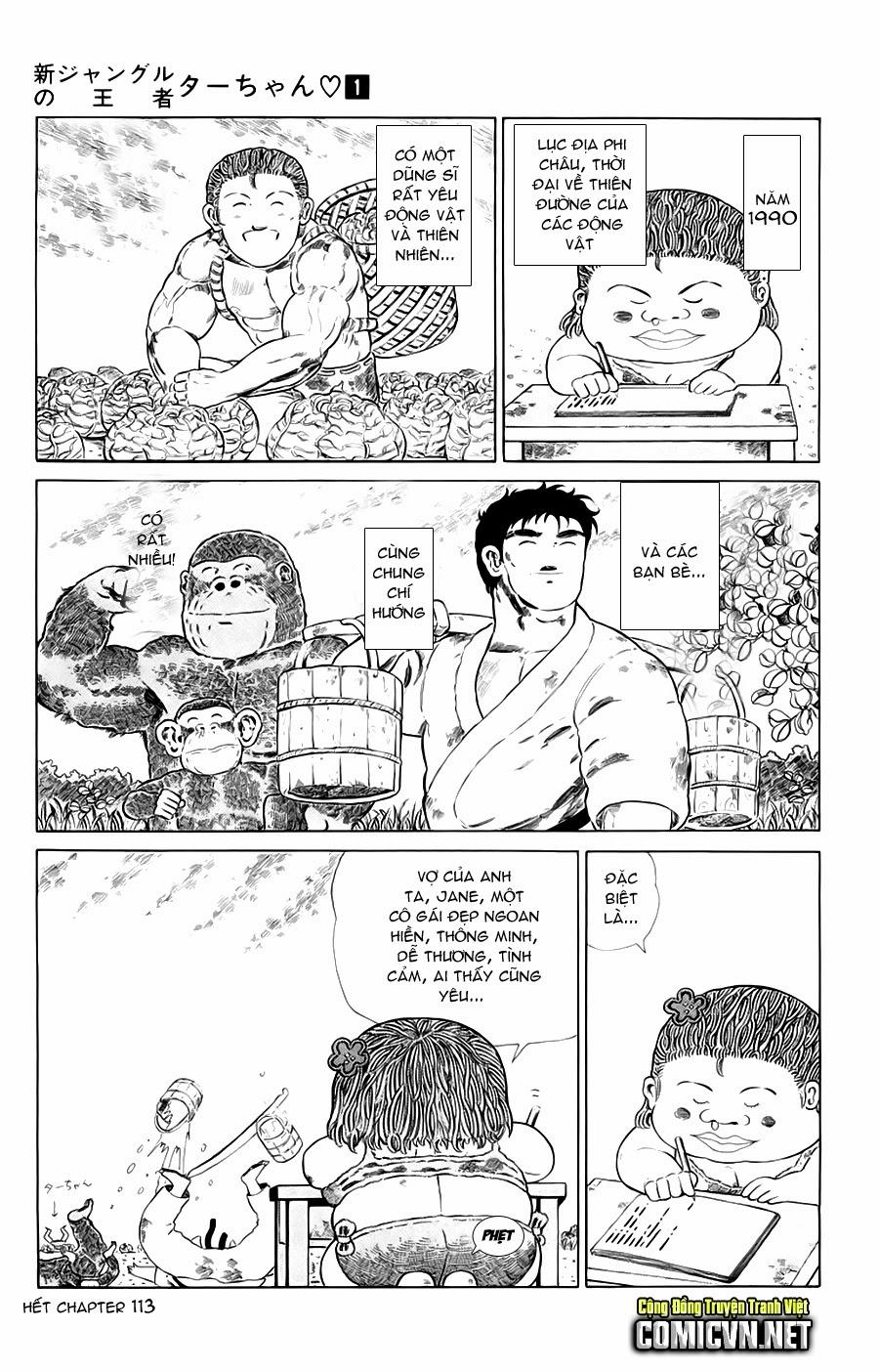 Chúa rừng Ta-chan chapter 113 (new - phần 2 chapter 1) trang 19