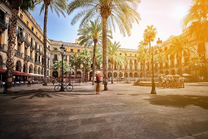 Plaza Real em Barcelona - Foto: Shutterstock