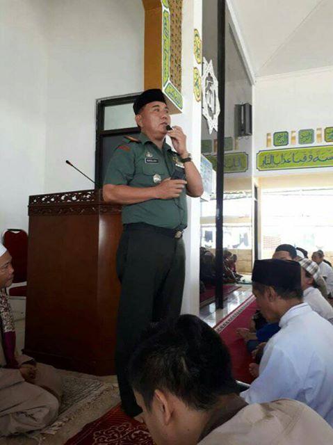 Danramil 03/Sukmajaya Komsos di Rutan Cilodong