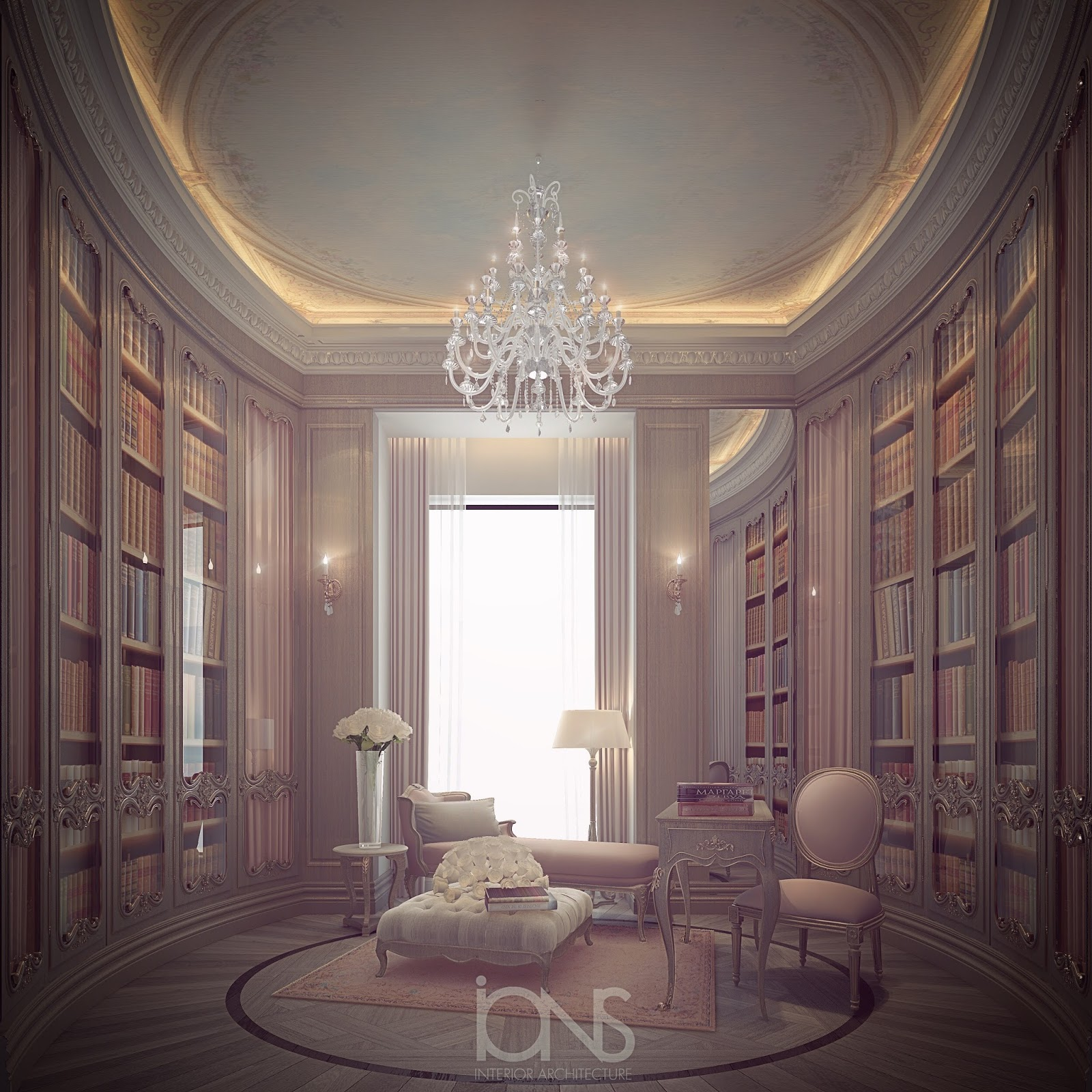 Ions Interior Design Dubai exploring luxurious homes: cosy reading room design