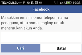 #Cara Buka FB Yang Lupa Email & Password Lewat Facebook Lite