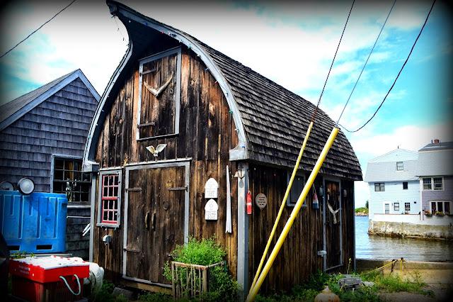 Fishing, Shack, Marblehead, Massachusetts
