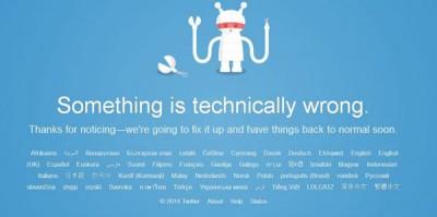 Kelebihan Pengguna, Twitter Down!