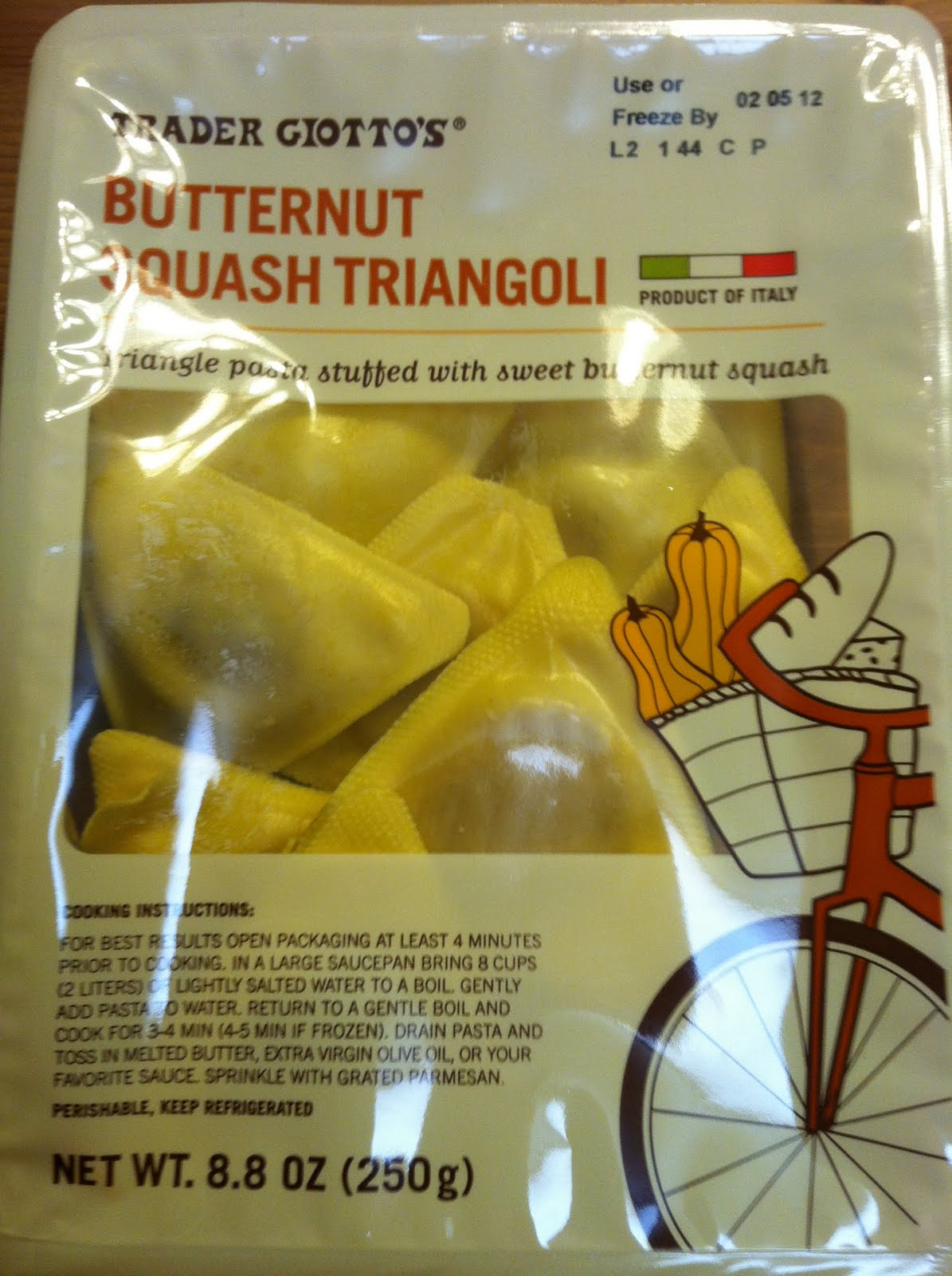 What's Good at Trader Joe's?: Trader Giotto's Butternut ...