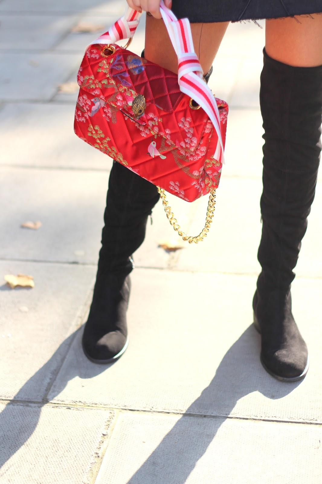 peexo blogger autumn style over the knee boots