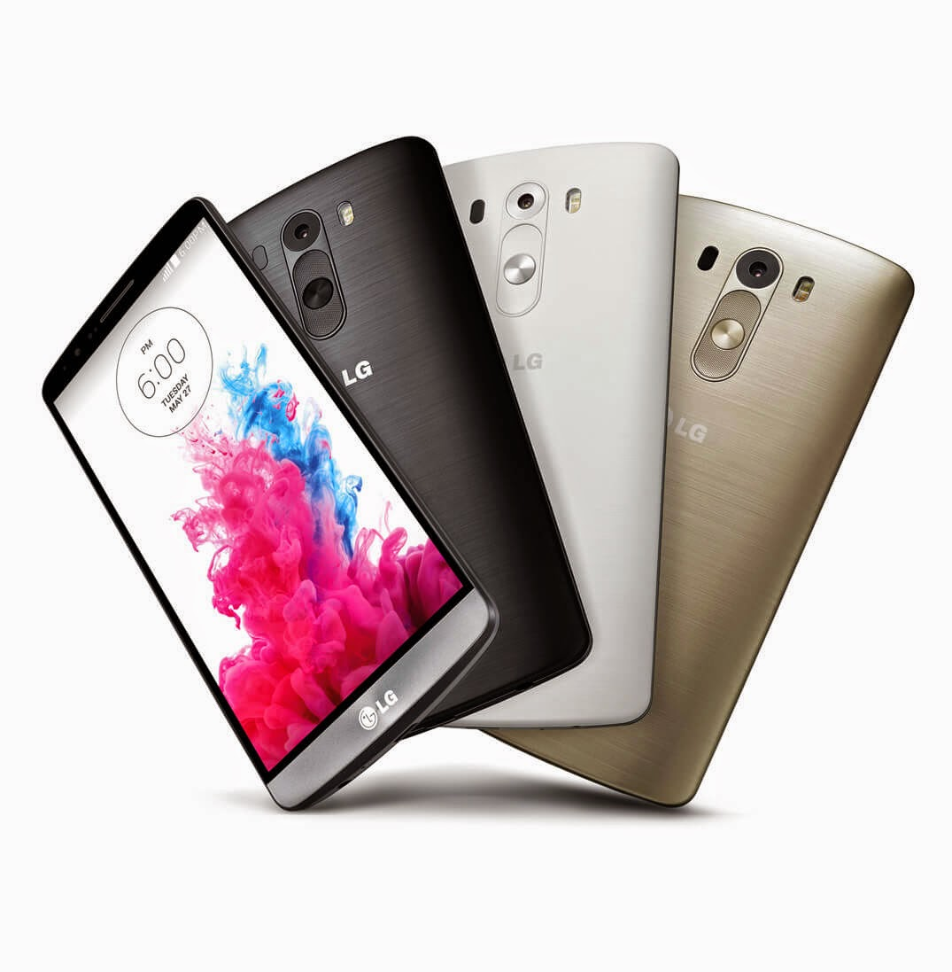 LG G3 - Highest Specs Android Smartphones in 2015