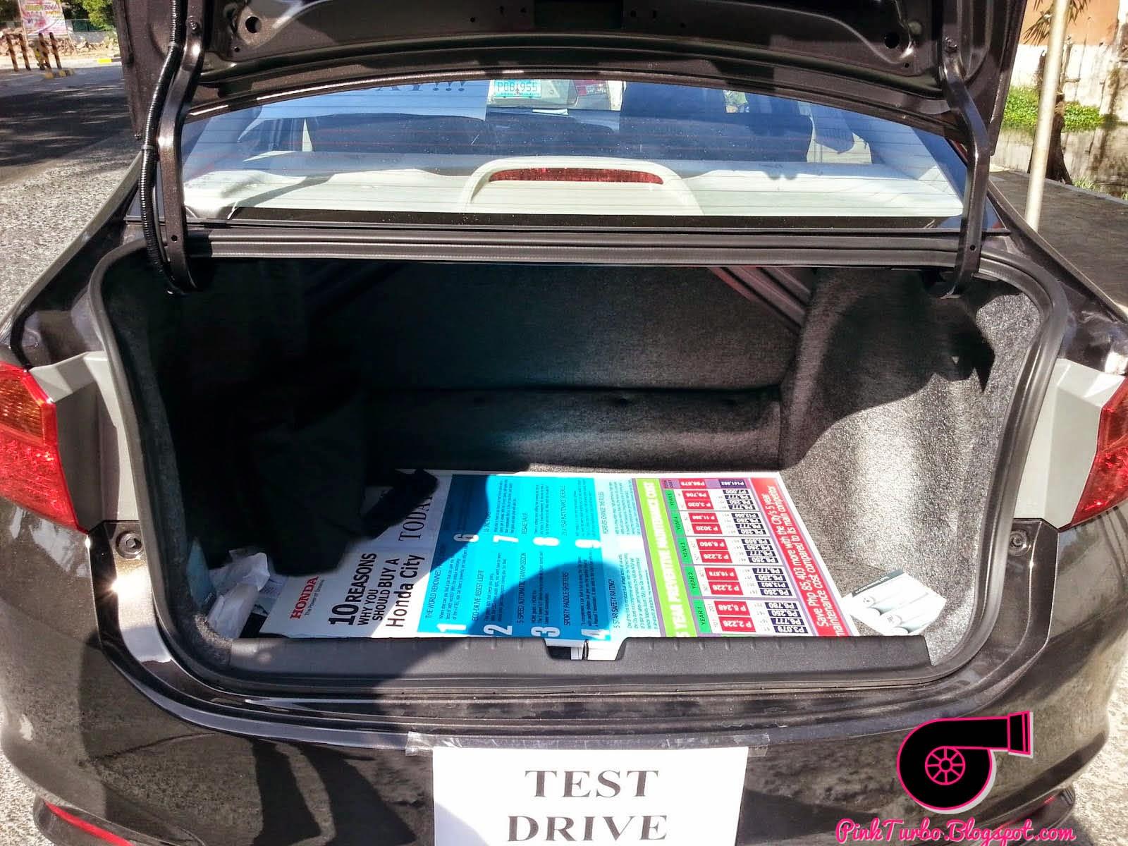 Pink Turbo: Test Driving the 2014 Honda City!