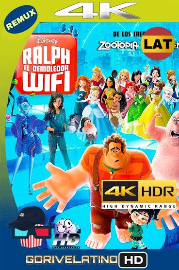 Wifi Ralph (2018) BDRemux 4K HDR Latino-Ingles MKV