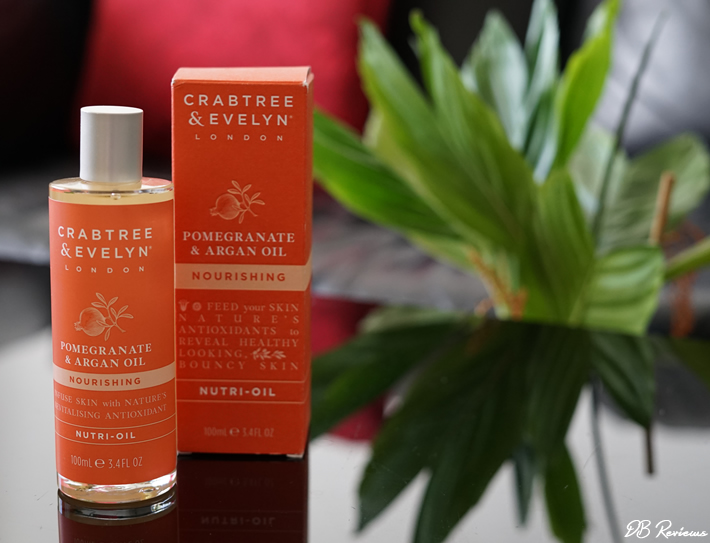 Crabtree and Evelyn Pomegrante and Argan Oil