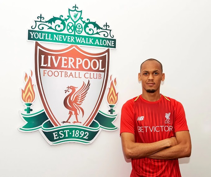 Liverpool close to signing Fabinho in €50million deal