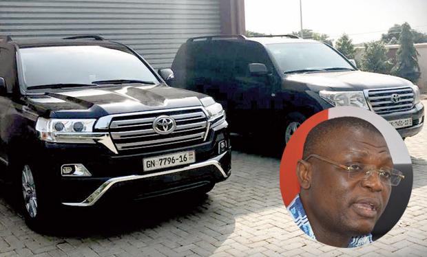 CID Releases Kofi Adams' Cars