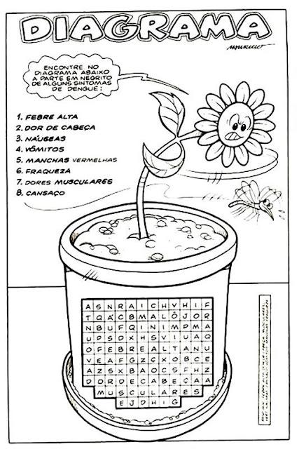 atividades para educação infantil sobre dengue