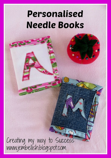 Personalised Needle Book
