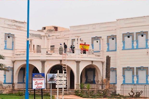 Sidi Ifni, antigua capital de la provincia nº 51 española, a 12 de octubre de 2016