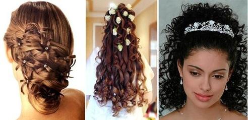 peinados recogidos para cabello largo peinados con cintas