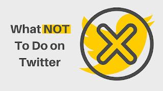在Twitter上不要做什么#SeptVidChallenge