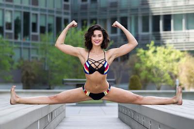 Bianca Bree van damme legs stretch