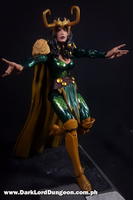 Marvel Legends Female Loki - A-Force SDCC set