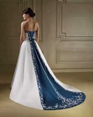 Vestido Noiva Colorido