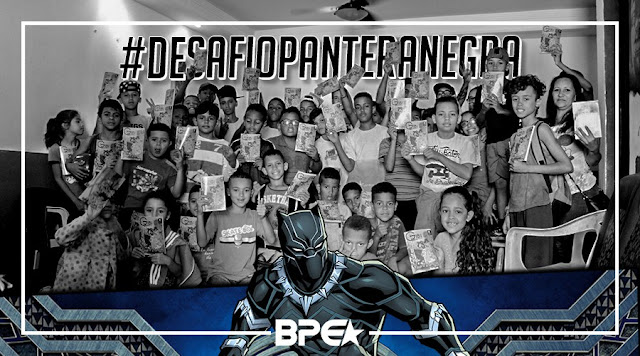 Apoie o Black Panther Challenge #DesafioPanteraNegra!