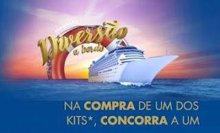 Cadastrar Promoção Veja Diversão a Bordo Cruzeiro com Acompanhante